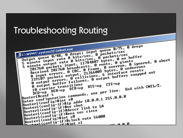Troubleshooting Routing | InfoSec.co.il