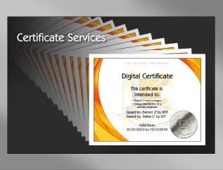 Certificate Services   InfoSec.co.il