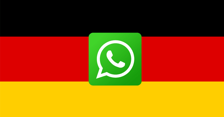 Germany bans FaceBook from collecting data from WhatsApp users