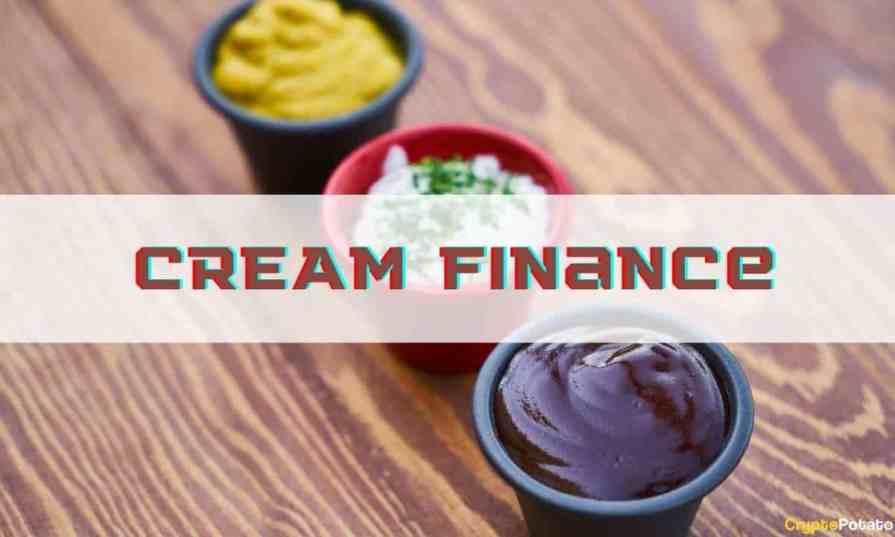 $ 29 million stolen Cream Finance platform