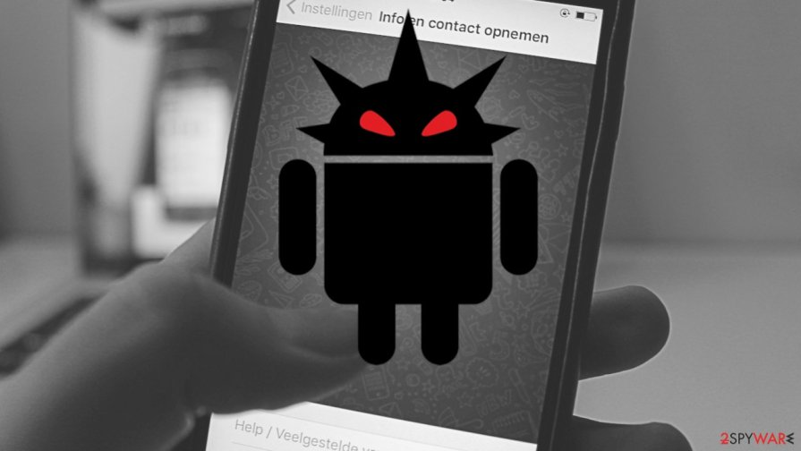 Android Trojan found stealing data 378 apps