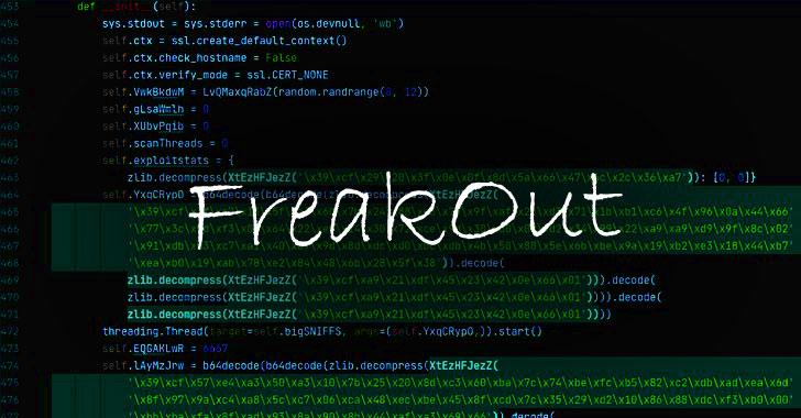 FreakOut Botnet Attacks Vulnerable DVRs