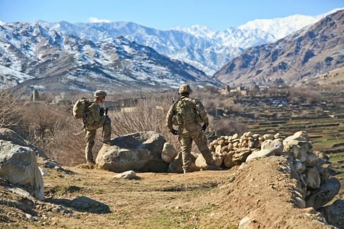 Vojaci v Afganistane