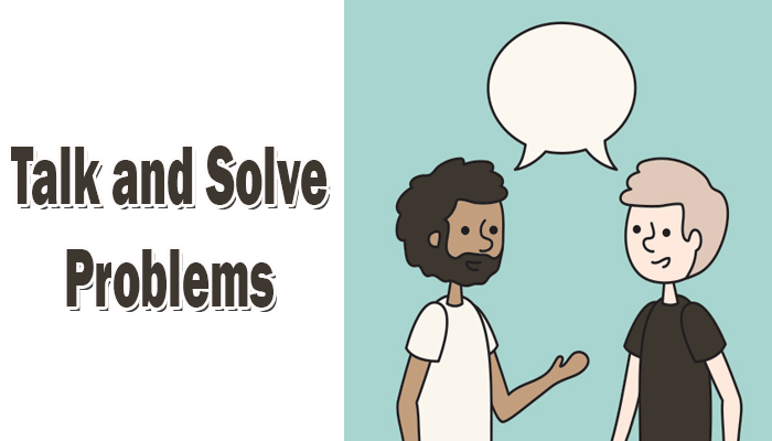Talk and Solve Problems