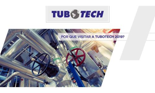 Garanta sua credencial gratuita para a feira Tubotech 2019!