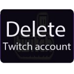 Twitch account permanent delete