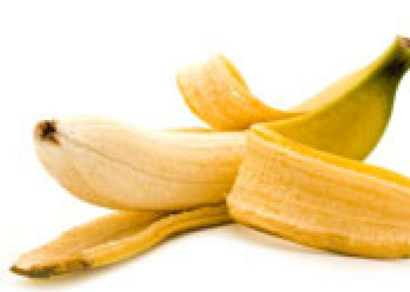 what is the correct way to eat a banana