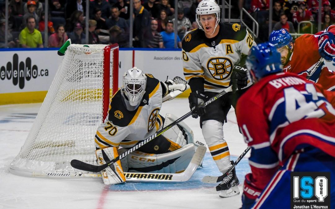 L'équipe B des Canadiens de Montréal perdent leur première rencontre au Centre Vidéotron