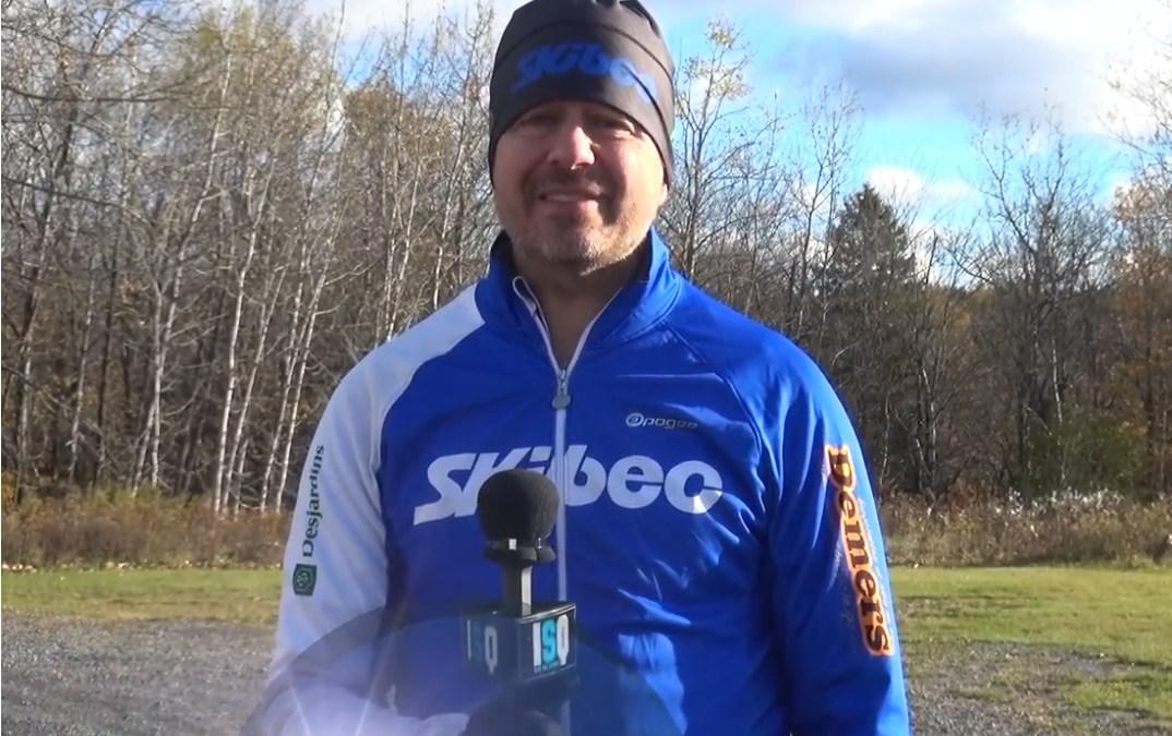 ISQ donne le micro à Patrick Blais, président de Skibec Nordique