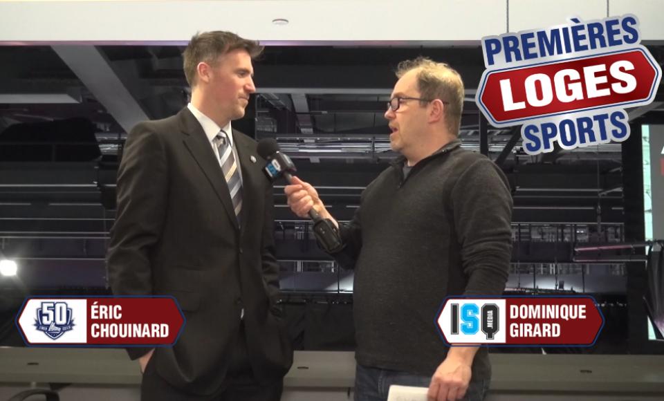 Premières Loges Sports, rencontre le Directeur du département de sécurité des joueurs de la LHJMQ et ancien Remparts de Québec, Éric Chouinard!