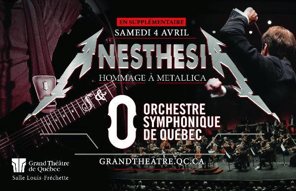 Une supplémentaire pour  Hommage symphonique à Metallica !