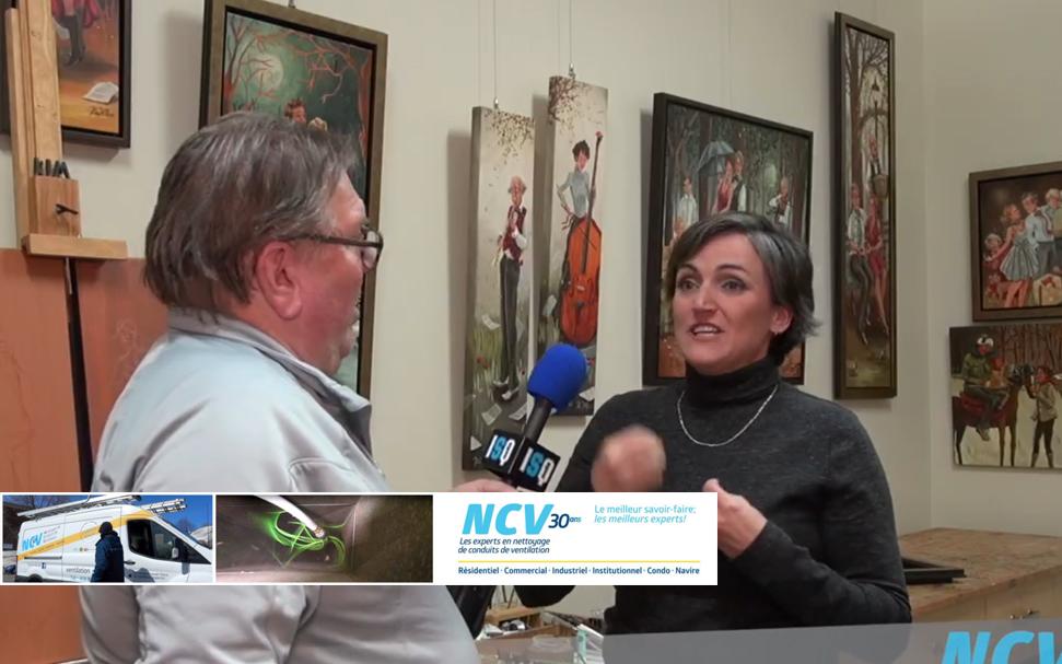 ISQ.media rencontre l'artiste-peintre Kim Veilleux