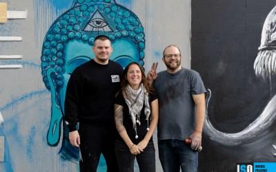 Des artistes des Arts de la rue au Parc Victoria de Québec
