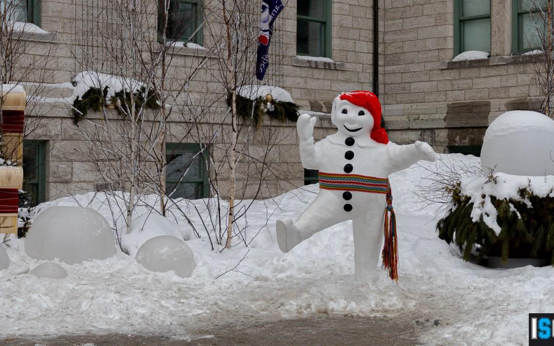 Balade sur les sites du Carnaval de Québec