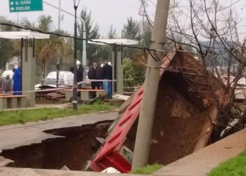Berazategui crater Infosur