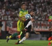 NOTICIAS ARGENTINAS BAIRES, FEBRERO 29: Escena del partido entre River y Defensa y Justicias, valido por la 22° fecha de la Superliga. FOTO NA: MARIANO SANCHEZ