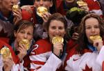Canadian Women's Hockey Team Party Like Rock Stars 5