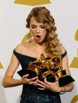 Taylor Drops and Breaks Her Grammy (on accident) 3