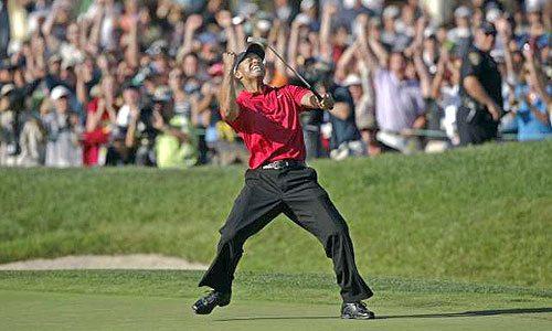 Tiger Woods 2008 US Open