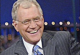 Photo of David Letterman iPad Top 10