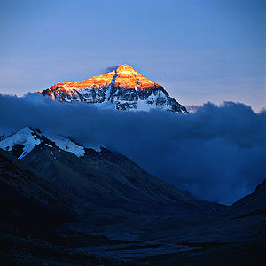 Mount Everest (topgold)