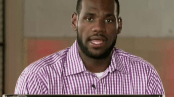 NBA and Cleveland Prepare For Return of King James 3