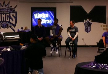 My Night With Klout and The Sacramento Kings 1