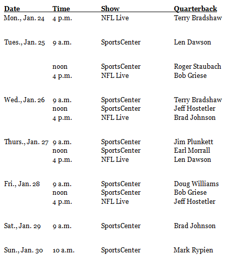 ESPN and Bing Showcase Champion Quarterbacks in New Series 3