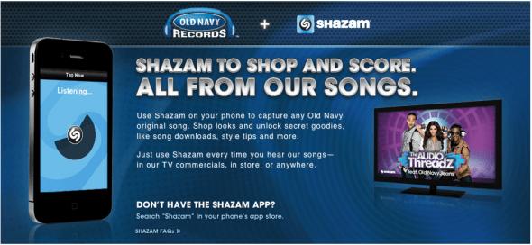 Old Navy and Shazam 1