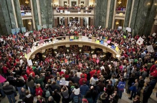 Collective Bargaining and the Case of Wisconsin vs. the Teachers' Union 2