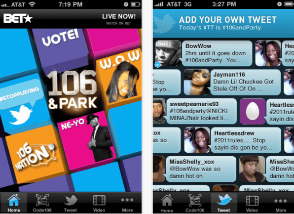 BET Gets Interactive With New 106 & PARK iApp 2