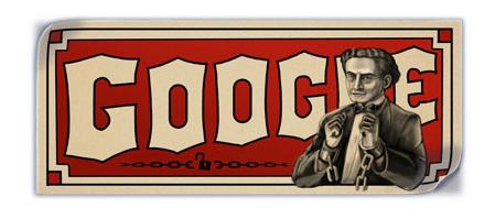 Google Doodle: Harry Houdini 1