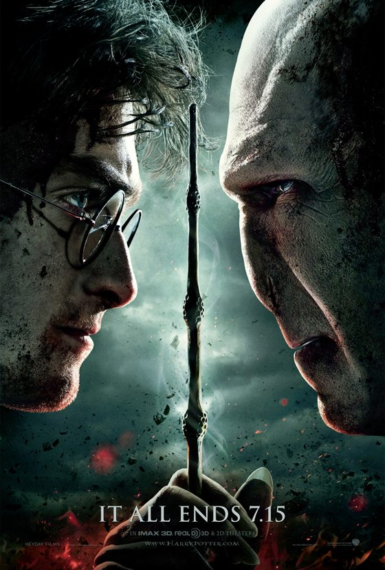 Harry Potter and the Deathly Hallows 2 [poster] 1