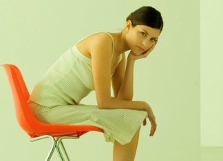 woman sitting in chair