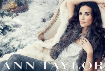 Demi Moore: Ann Taylor's New Face of Holiday Campaign 1