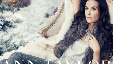 Photo of Demi Moore: Ann Taylor's New Face of Holiday Campaign