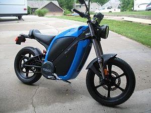 English: Brammo Enertia electric motorcycle