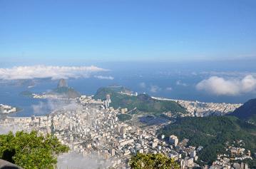 Rio arial view