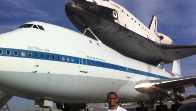 Photo of Exclusive Coverage – Space Shuttle Endeavor at LAX