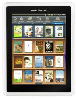 Pandigital E-Reader Review 1