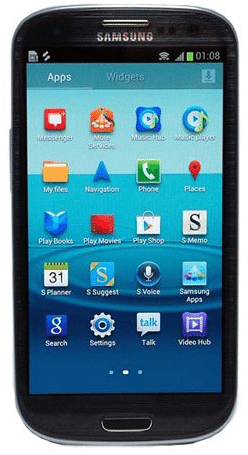 Black Samsung Galaxy S III Coming 1
