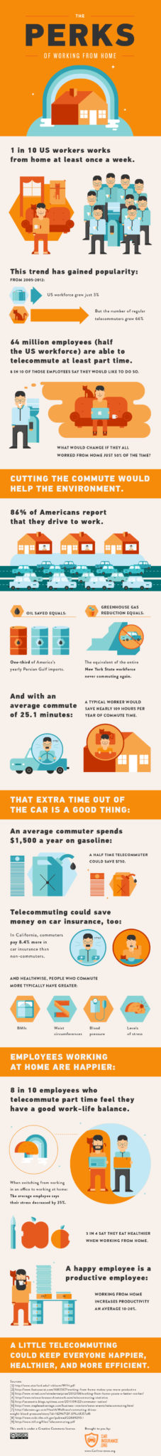 Telecommuter Infographic