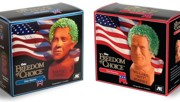 Chia Obama Sales Are Leading Chia Romney Sales... 1