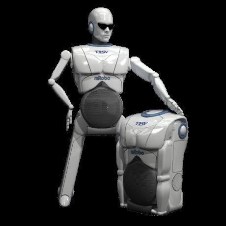 Bieber and Tosy Robotics at CES 1