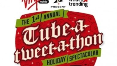Photo of What's Trending and Virgin Mobile Present The Tube-A-Tweet-A-Thon Holiday Spectacular