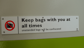 The Unattended Bag 1