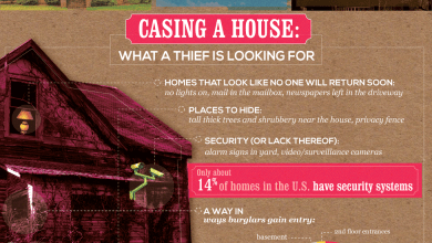 Photo of Keep Your Home Safe From Burglars [Infographic]