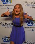 Justine Ezarik - IAWTV Awards 2013 - Red Carpet 1