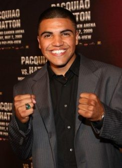 Interview with former WBC Welterweight Champion Victor Ortiz and undefeated Super Featherweight Champion Diego Magdaleno 1