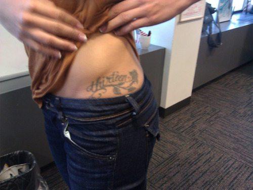 Alex Morgan tattoo